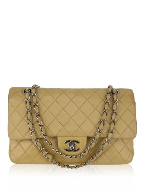 Bolsa Chanel Double Flap Glazed Calfskin