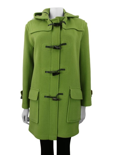 Sobretudo Burberry London Lã Verde