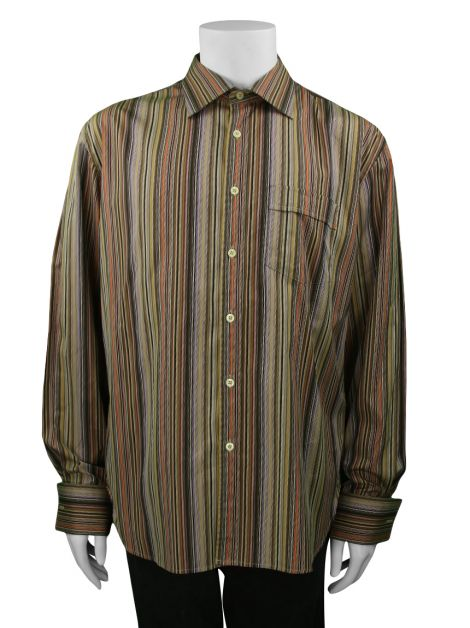 Camisa Paul Smith Listrada Masculina