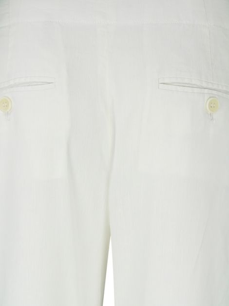 Calça Theory Slim Flare Off-White