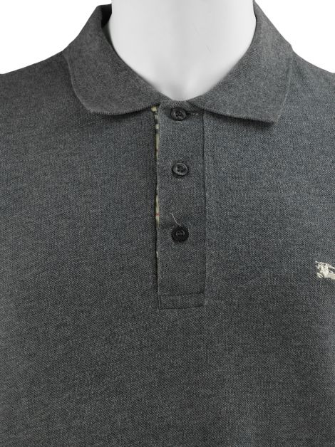 Camiseta Burberry London Polo Cinza Masculina