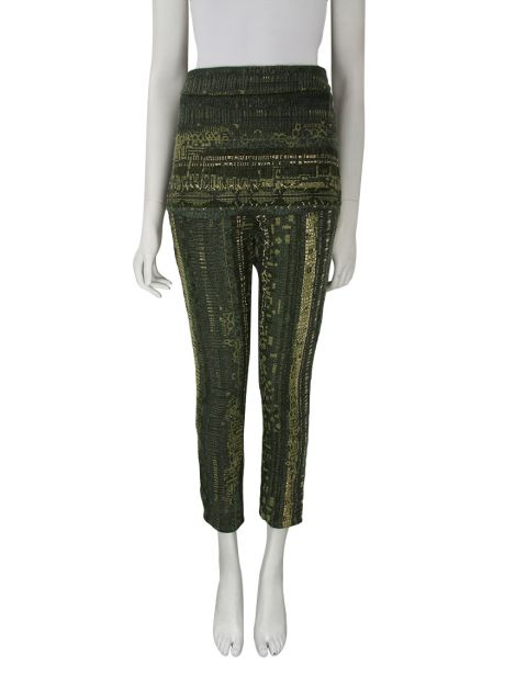 Calça Cruise Tweed Verde