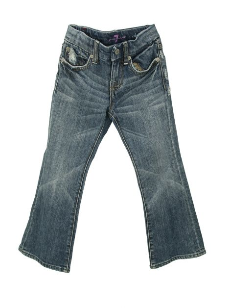 Calça Seven For All Mankind A Pocket Jeans Infantil