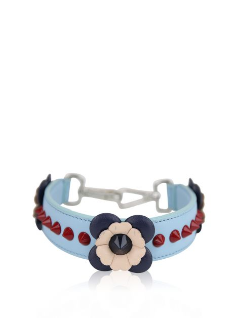 Alça Fendi Mini Strap You Azul