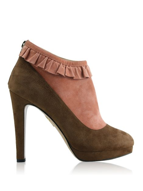 Ankle Boot Charlotte Olympia Emily Bicolor