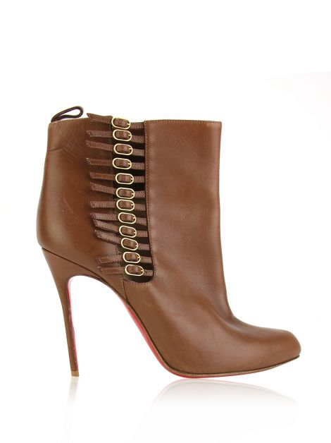 Ankle Boot Christian Louboutin Camisole Caramelo