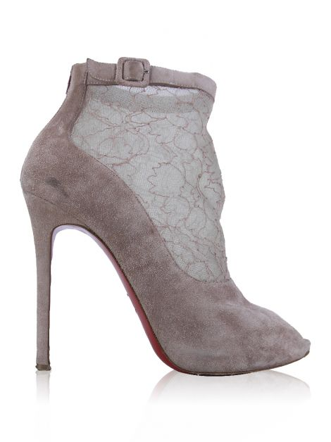 Ankle Boot Christian Louboutin Renda Rosê