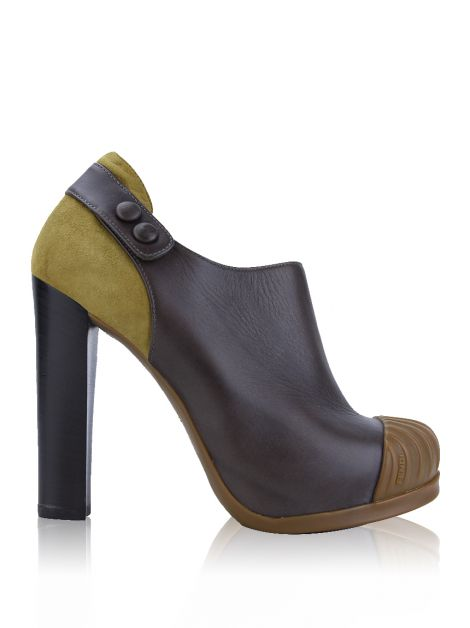 Ankle Boot Fendi Fendishire Marrom