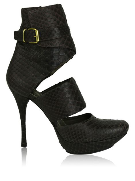 Ankle Boot Lanvin Cut Out Python