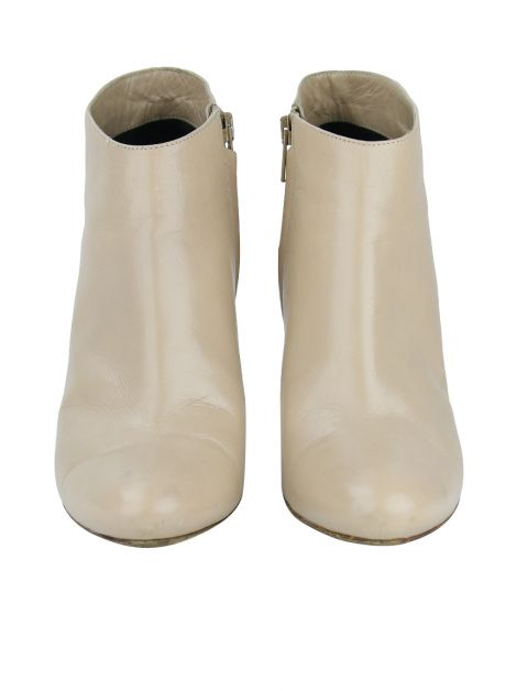 Ankle Boot Céline Couro Nude