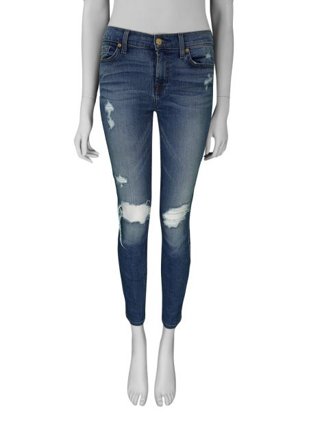 Calça Seven For All Mankind Ankle Gwenevere Jeans