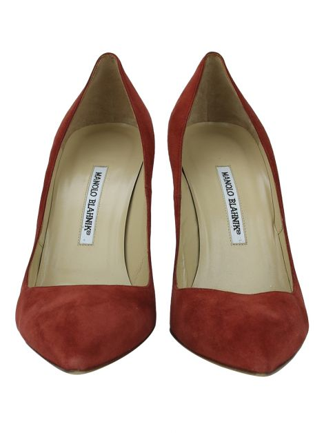 Sapato Manolo Blahnik Bb Pointy Terracota