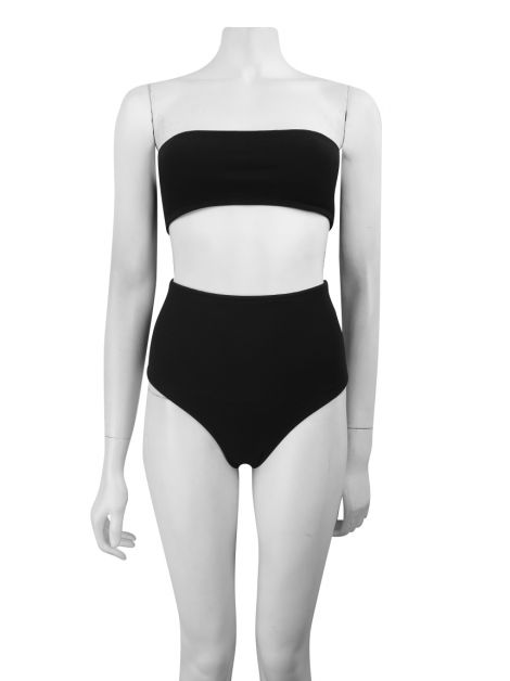 Biquini Lenny Niemeyer Hot Pants Preto