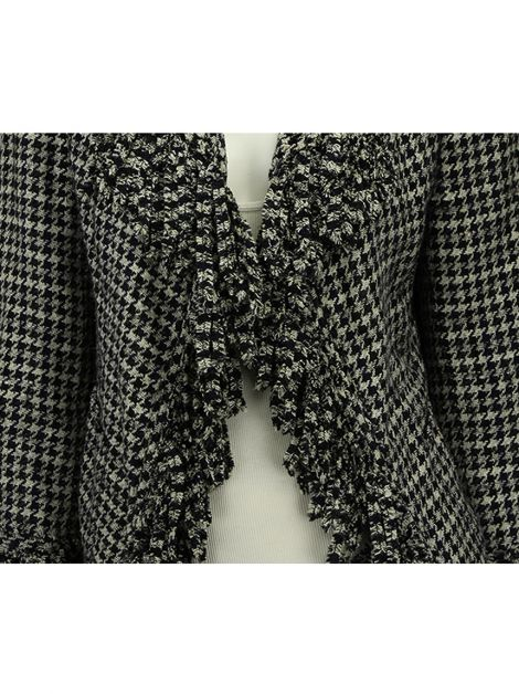 Blazer Chanel Tweed Pied Poule