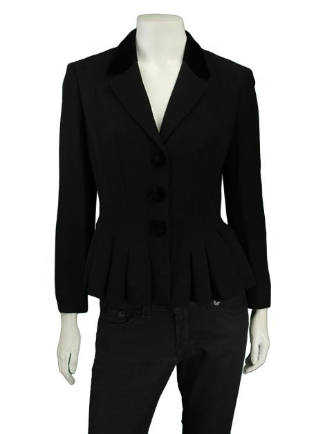 Blazer Moschino Cheap and Chic Preto