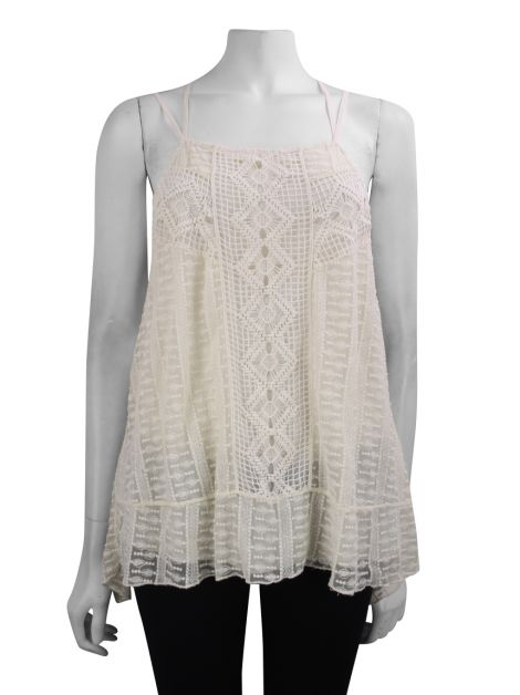 Blusa Alice + Olivia Renda Off-White