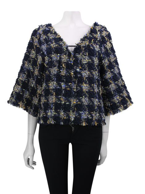 Blusa Animale Tweed Soha Multicolor