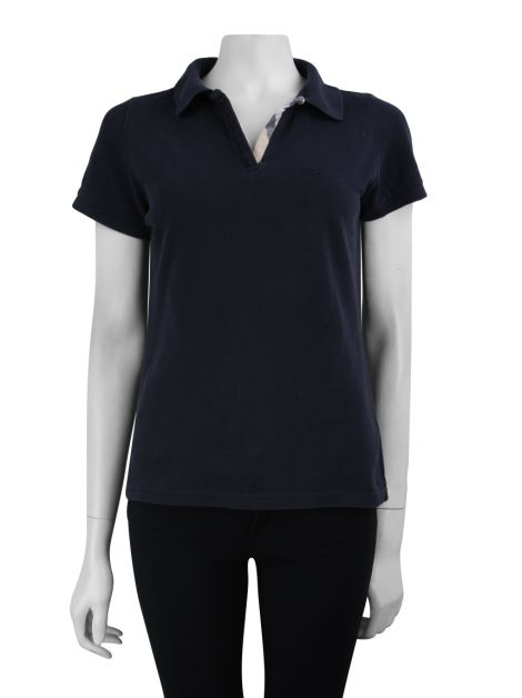 Blusa Burberry Brit Polo Azul