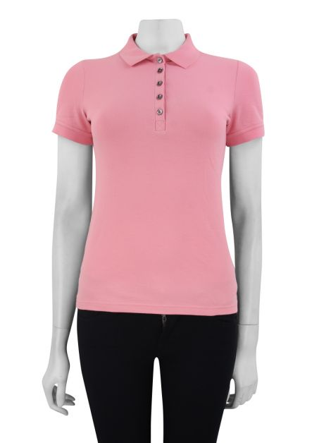 Blusa Burberry Brit Polo Rosa
