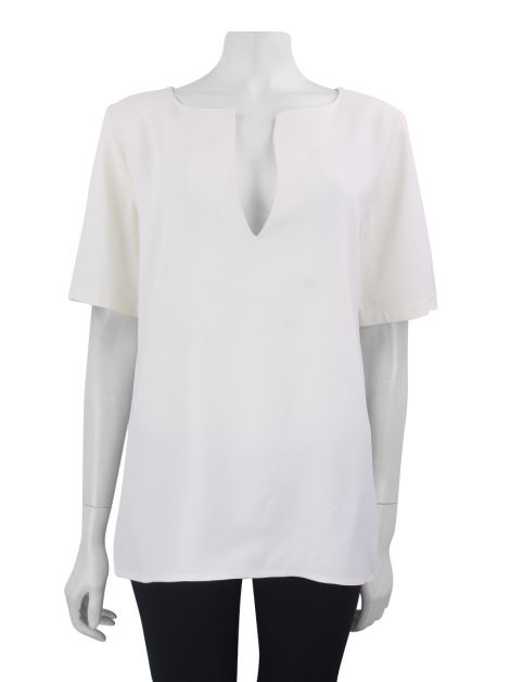 Blusa Cris Barros Ampla Off White