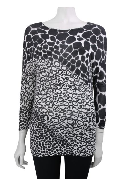 Blusa Gucci Animal Print