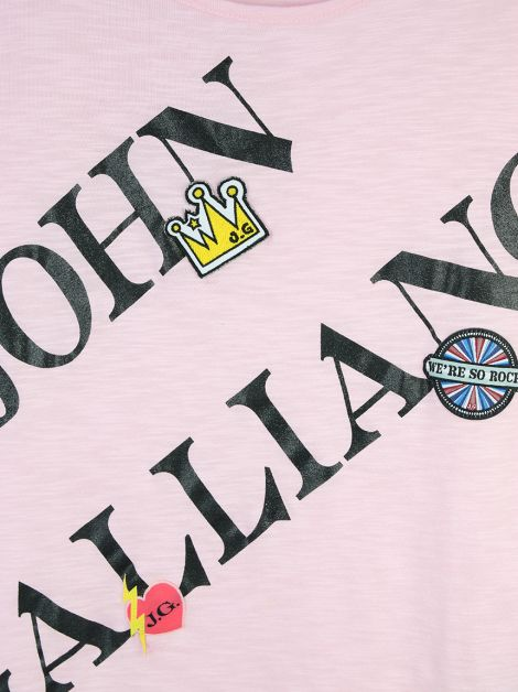 Blusa John Galliano Patches Infantil