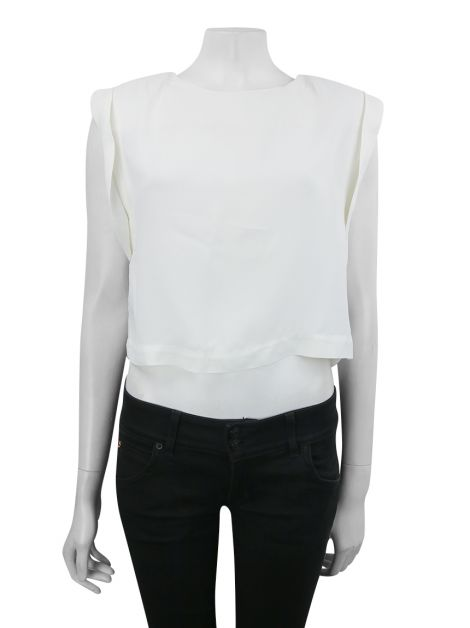 Blusa Lilly Sarti Crepe Off-White