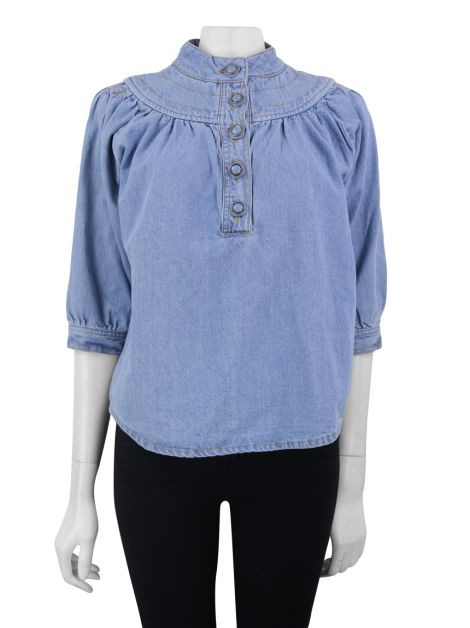 Blusa Lilly Sarti Jeans Claro