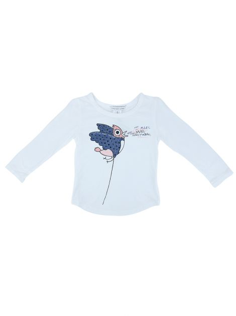 Blusa Little Marc Jacobs Tecido Estampada Infantil - SQ6B