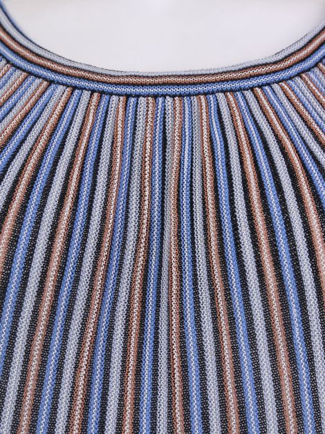 Blusa M Missoni Crochê Multicolor