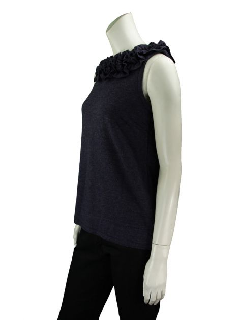 Blusa Marc By Marc Jacobs Babados Azul
