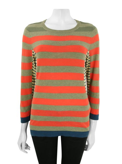 Blusa Marc by Marc Jacobs Listrada Colorida