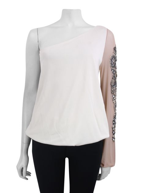 Blusa Mixed Bordado Off White