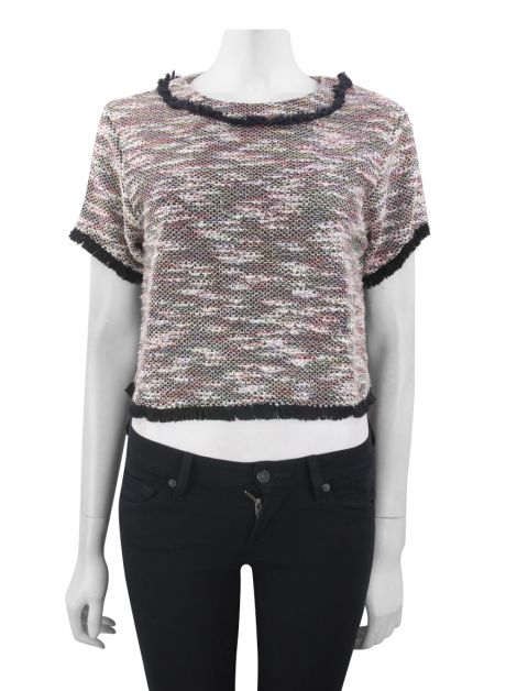 Blusa Mixed Bouclé Multicolor