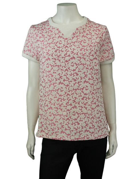 Blusa Mixed Brocado Bicolor