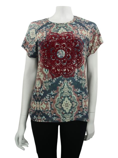 Blusa Mixed Cinar Estampada