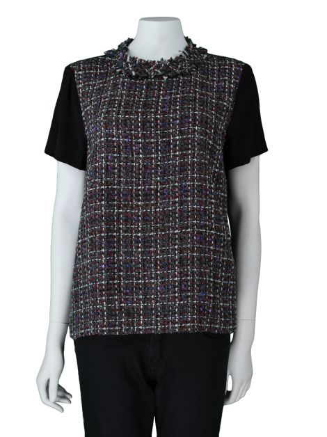 Blusa Mixed Comprida Tweed