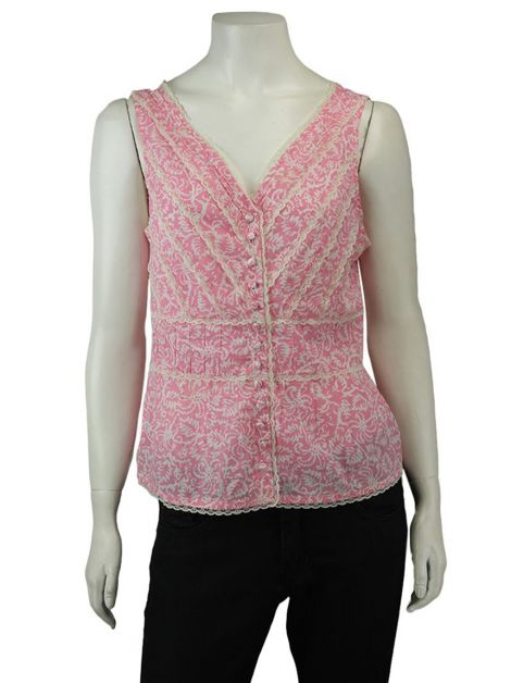 Blusa Mixed Estampa Rosa