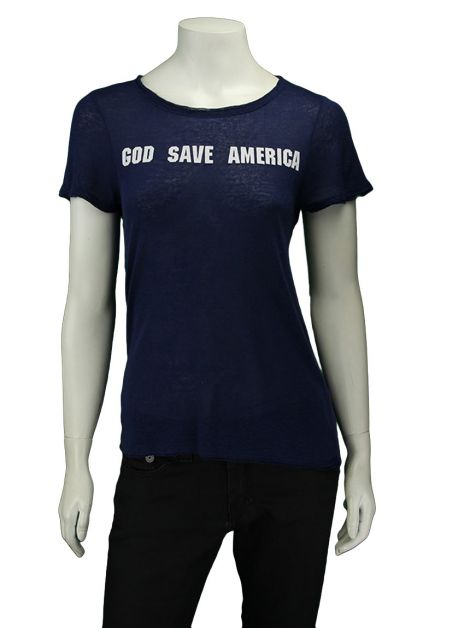 Blusa Mixed God Save America