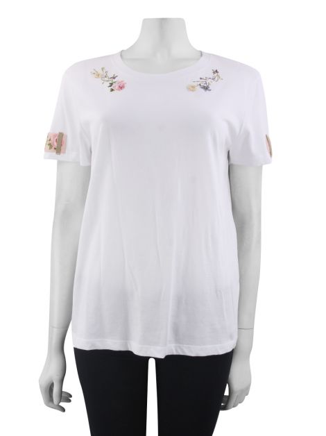 Blusa Red Valentino Bordado Branca