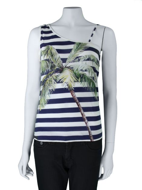 Blusa Stella McCartney Seda Estampado