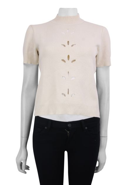 Blusa Talie NK Recortes Nude