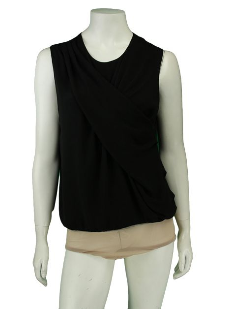 Body Egrey Draped Preto