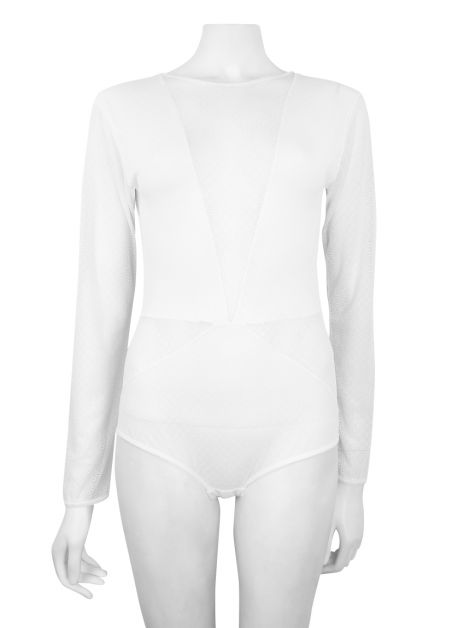 Body Lilly Sarti Renda Branco