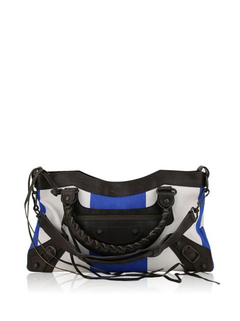 Bolsa Balenciaga Motorcycle First Bicolor