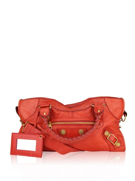 Bolsa Balenciaga Part Time Giant Tomate