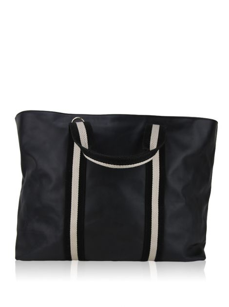 Bolsa Bally Black Leather Tote