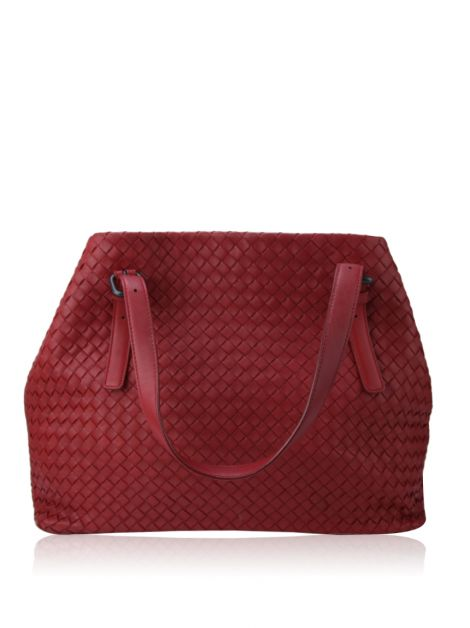 Bolsa Bottega Veneta Nappa Intrecciato Medium Seamless