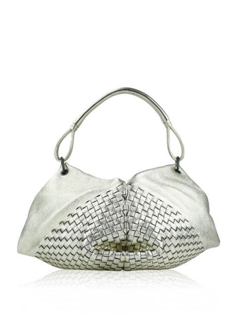 Bolsa Bottega Veneta Fortune Cookie Dourada