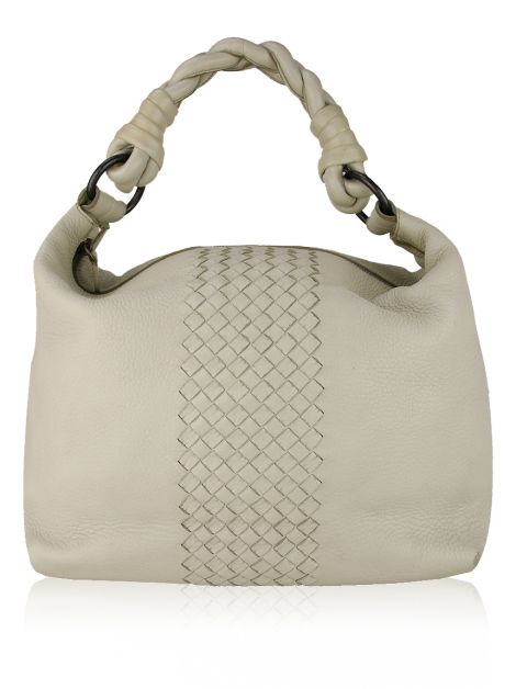 Bolsa Bottega Veneta Hobo Braid Off-White